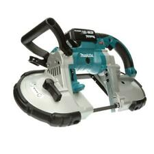 Makita Portable Band Saw 18-Volt Lithium-Ion Cordless Variable Speed Blades
