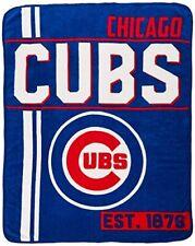 Chicago Cubs MLB Northwest Super Plush Fleece Throw