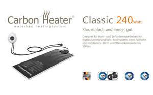 Wasserbett Heizung Carbon Heater Classic 240W für 1 Hälfte vom Dual System