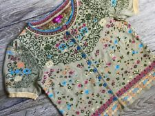 IVKO Damen Cardigan Strickjacke  Multicolor Cotton Gr.38!