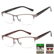 0ffbdc784d9d Retro Metal Frame Multi Focus + Reading Glasses 3 Power Strengths in 1  Reader