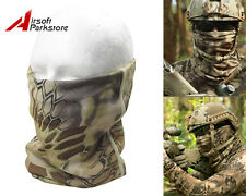 Tactical Military Hunting Camouflage Quick Dry Scarf Hood Half Face Mask Banshee