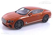 Bentley New Continental GT Orange Flame TopSpeed 1:18 TS0222