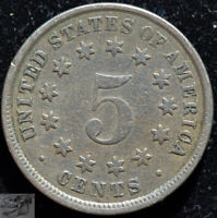 1882 Shield Nickel, Very Fine Condition, Free Shipping, Buy 4 get $5, C5163