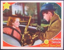 SMALL TOWN GIRL JANET GAYNOR ROBERT TAYLOR 1936 LOBBY CARD