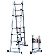 NEW Multi Purpose 5 Meter Aluminium Telescopic Extension Ladder