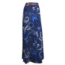 Rayon Paisley Skirts for Women