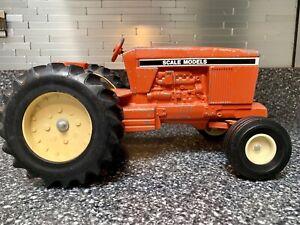 Vintage Orange Diescast Model Tractor