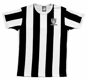 Grimsby Town 1960s Retro Football T Shirt Embroidered Crest S-XXL