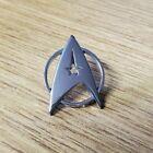 Star Trek Sliver Insignia Uniform Lapel Pin 1 inches wide