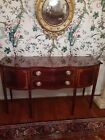 Council Craftsman Morgan Sideboard with Satin Wood Inlaids and Tapered Legs