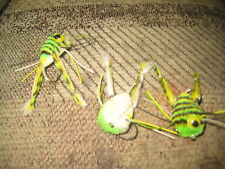 3 each size 2 Ligas Flies Wiggle Leg Frog With Guard Bass Flies Hair Bug
