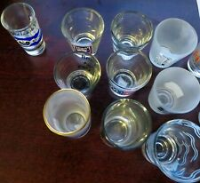 Collectible SHOTGLASS Shot Glass - CANADA, ASIA, PHILIPPINES, AUSTRALIA / NZ