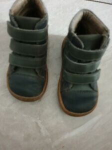 Boys Livie & Luca fall/winter boots -Jamie in Charcoal -toddler size 6 vgc