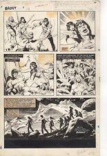 John Buscema original art BRONT!