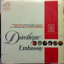 Various - 1958 Discotheque Embassy Cigarettes Promo LP VG+ SPC-33-26 RCA Canada