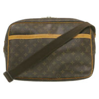 LOUIS VUITTON Monogram Reporter GM Shoulder Bag M45252 LV Auth 20465