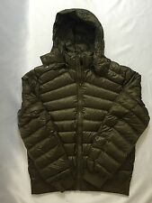 Lululemon Men's Get Up Get Down Hoodie 800 Fill Power Goose Down Moss Green L