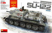 PLASTIC MODELS SU-122 SOVIET SELF-PROPELLED GUN, EARLY PROD. 1/35 MINIART 35181