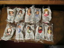 McDonalds Madame Alexander set of 10 dolls 2005