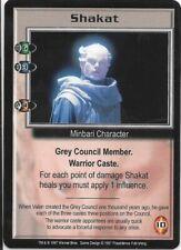 SHAKAT Babylon 5 CCG Minbari Warrior Caste