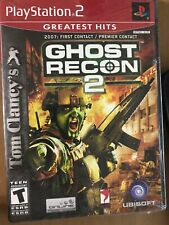 NEW Tom Clancy's Ghost Recon 2 (Sony PlayStation 2, 2004) PS2 Sealed