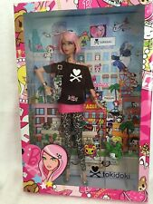 Pink Hair Tokidoki Barbie doll / Collector Gold Label / Tattoos