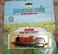 THOMAS THE TANK ENGINE SHINING TIME STATION JAMES THE RED ENGINE 1991 ERTL
