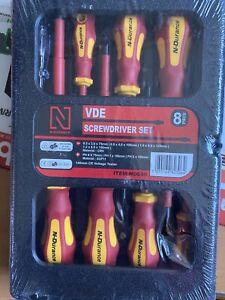 N-Durance 8piece Electrical Screwdriver Set