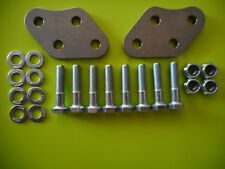 Suzuki DR650 Foot Peg LOWERING PLATES Kit DR 650 bracket footpeg footpegs