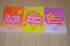 lot 3 livres de Mélissa de la Cruz : Une saison en Bikini, Glamour toujours...