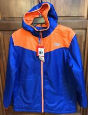 The North Face Ballo Jacket Reversible Blue Orange Boys L 14 / 16 $99 NWT New