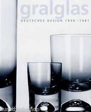 Fachbuch gralglas Deutsches Design 1930-1981 mit CD Gebrauchsgefäße & Ziergefäße