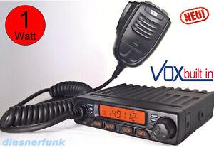 TEAM MiCo Freenet Mobil Funk 149Mhz VHF UKW Station 12V lizensfrei NEU mit VOX