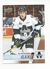2017-18 Upper Deck CHL #126 Alexandre Alain (Montreal Canadiens)
