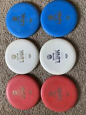 Lot Of 6 Discmania Evolution Link Exo Hard Used