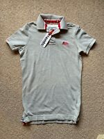 🆕Superdry Polo Shirt Classic Pique Size Small Women's BRAND NEW WITH TAGS