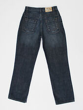 Daniel Christian mens boys straight fit blue jeans size 28w short 29leg (M4032)