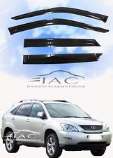 2004-2009 Lexus RX350 RX330 RX400h Window Visor Sun Rain Guard Weather Shield
