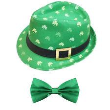 Irish shamrock BORSALINO CAPPELLO E VERDE PAPILLON S. PATRIZIO Party Costume