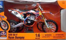 Ryan Dungey KTM SXF 450 MODEL Motocross MOTORBIKE NEW RAY DIECAST 1:6 SCALE