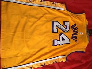 Nike Authentic NBA Mamba Kobe Bryant Autographed Jersey Hand Signed With Coa