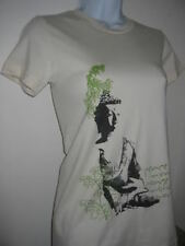 NEWTG Organic American Apparel Buddha Peace tank shirt