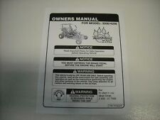 Go Kart Fun Cart Yerf Dog 40 PAGE Owners Manual Model 3206 / 4206  New