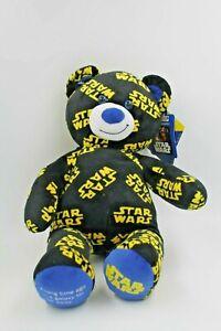 "New Build a Bear Star Wars Pattern Bear - Star Wars Sound Button18"" Tall Plush"