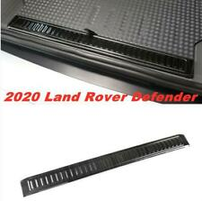 FOR 2020--2021 Land Rover Defender Black brushed Rear Bumper Protector Cover