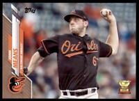2020 Topps Series 2 Base Gold #550 John Means /2020 - Baltimore Orioles