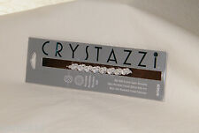 New Cousin - Crystazzi 4 by 6 mm Crystal Satin Rondelle / 8-Piece - Discontinued