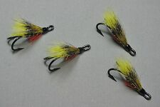 4 Monroe Killers - Size 8 Double Hooks - Atlantic Salmon Flies