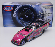 NEW  NHRA 2017 COURTNEY FORCE PINK ADVANCE AUTO PARTS  FUNNY COLOR CHROME 1/24